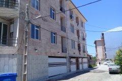 آپارتمان نوساز در خیابان توریستی