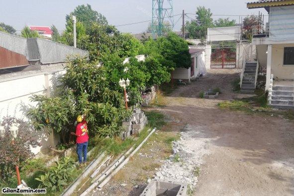 حیاط هتل اپارتمان