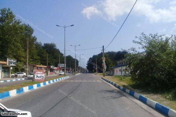 جاده کنار زمین