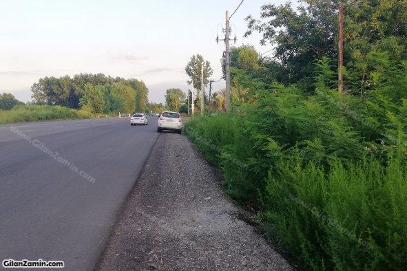 بر جاده ترانزیتی و اصلی