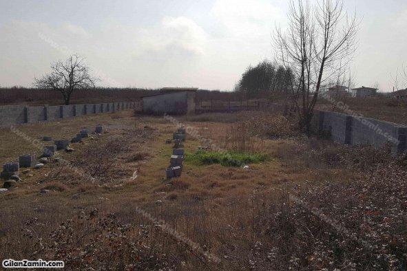 زمین مسکونی تجاری کنار جاده فرعی و 100 متری جاده اصلی