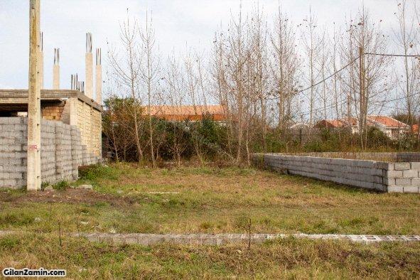 زمین مسکونی با موقعیت عالی نزدیک به ساحل در زیباکنار