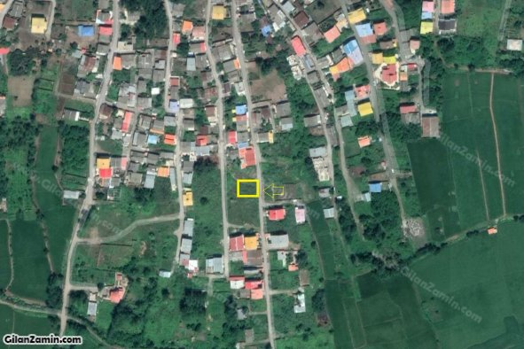 205 متر  زمین مسکونی با سند