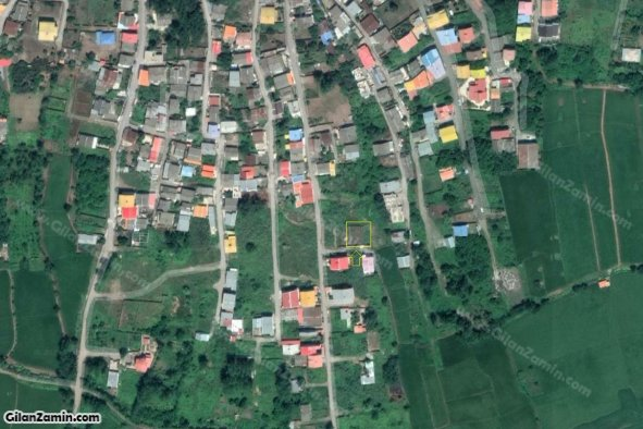 200 متر زمین مسکونی با سند مالکیت