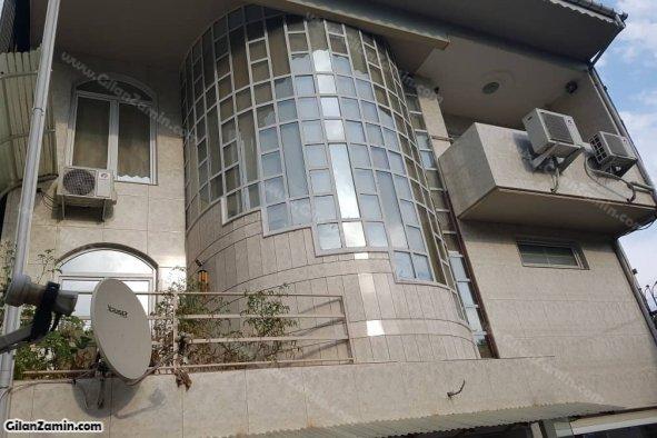 نمای پشت ساختمان