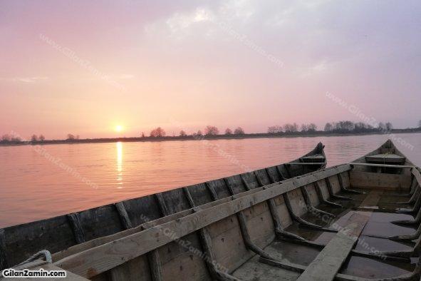 چشم انداز رودخانه سفیدرود