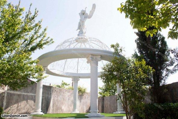 باغ ویلای 600 متری محوطه سازی شده زیبا و نزدیک به ساحل در زیباکنار منطقه آزاد انزلی