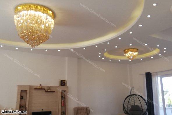 سقف نورپردازی به همراه لوستر