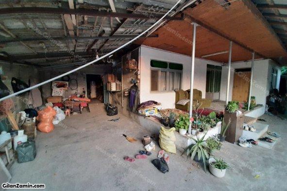 خانه کلنگی حیاط دار