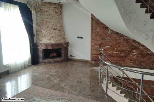 شومینه طبقه دوم